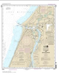 Buy map St. Joseph and Benton Harbor Nautical Chart (14930) by NOAA from United States Maps Store
