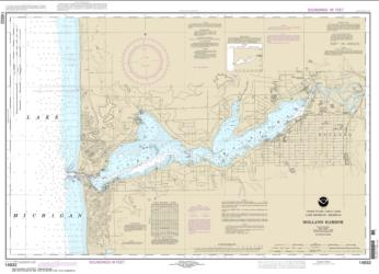 Buy map Holland Harbor Nautical Chart (14932) by NOAA from United States Maps Store
