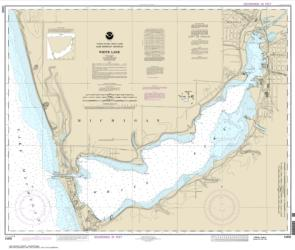 Buy map White Lake Nautical Chart (14935) by NOAA from United States Maps Store