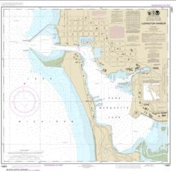 Buy map Ludington Harbor Nautical Chart (14937) by NOAA from United States Maps Store