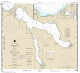 Buy map Lake Charlevoix; Charlevoix, South Point to Round Lake Nautical Chart (14942) by NOAA from United States Maps Store
