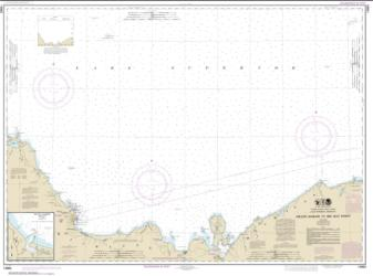 Buy map Grand Marais to Big Bay Point; Big Bay Harbor Nautical Chart (14963) by NOAA from United States Maps Store