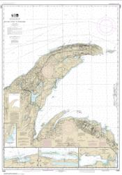Buy map Big Bay Point to Redridge; Grand Traverse Bay Harbor; Lac La Belle harbor; Copper and Eagle Harbors Nautical Chart (14964) by NOAA from United States Maps Store