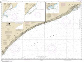 Buy map Beaver Bay to Pigeon Point; Silver Bay Harbor; Taconite Harbor; Grand Marais Harbor Nautical Chart (14967) by NOAA from Minnesota Maps Store