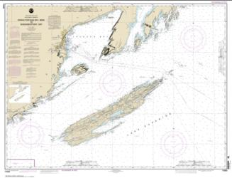 Buy map Grand Portage Bay, Minn. to Shesbeeb Point, Ont. Nautical Chart (14968) by NOAA from Minnesota Maps Store
