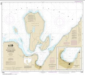 Buy map Munising Harbor and Approaches; Munising Harbor Nautical Chart (14969) by NOAA from United States Maps Store