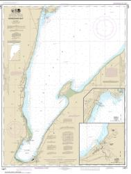 Buy map Keweenaw Bay; L Anse and Baraga Harbors Nautical Chart (14971) by NOAA from United States Maps Store