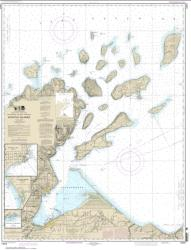 Buy map Apostle Islands, including Chequamegan Bay; Bayfield Harbor; Pikes Bay Harbor; La Pointe Harbor Nautical Chart (14973) by NOAA from Wisconsin Maps Store