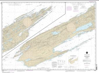 Buy map Isle Royale Nautical Chart (14976) by NOAA from United States Maps Store