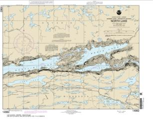 Buy map North Lake Nautical Chart (14982) by NOAA from United States Maps Store
