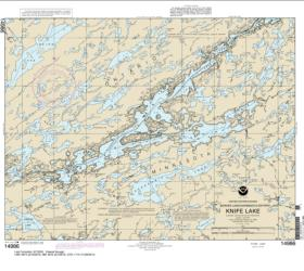 Buy map Knife Lake Nautical Chart (14986) by NOAA from Minnesota Maps Store