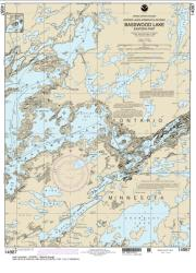 Buy map Basswood Lake, Eastern Part Nautical Chart (14987) by NOAA from Minnesota Maps Store