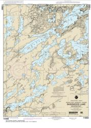 Buy map Basswood Lake, Western Part Nautical Chart (14988) by NOAA from Minnesota Maps Store