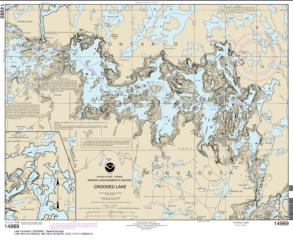 Buy map Crooked Lake Nautical Chart (14989) by NOAA from Wisconsin Maps Store