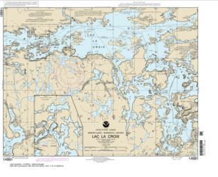 Buy map Lac la Croix Nautical Chart (14991) by NOAA from Minnesota Maps Store