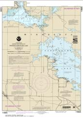 Buy map Western Kabetogama Lake Nautical Chart (14995) by NOAA from Minnesota Maps Store