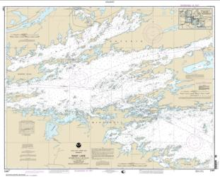Buy map Rainy Lake-Dryweed Island, to Big Island Nautical Chart (14997) by NOAA from Minnesota Maps Store