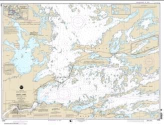 Buy map Rainy Lake-International Falls to Dryweed Island Nautical Chart (14998) by NOAA from Minnesota Maps Store