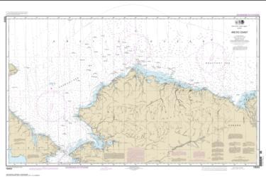 Buy map Arctic Coast Nautical Chart (16003) by NOAA from Alaska Maps Store