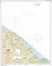 Buy map Griffin Pt. and approaches Nautical Chart (16042) by NOAA from Alaska Maps Store