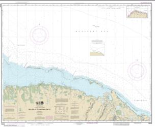 Buy map Bullen Pt. to Brownlow Pt. Nautical Chart (16045) by NOAA from Alaska Maps Store