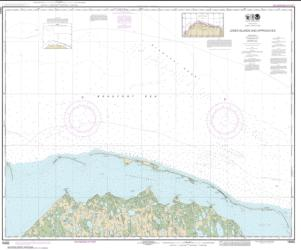 Buy map Jones Islands and approaches Nautical Chart (16062) by NOAA from Alaska Maps Store
