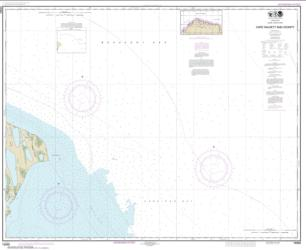 Buy map Cape Halkett and vicinity Nautical Chart (16065) by NOAA from Alaska Maps Store