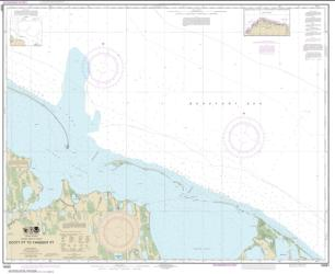 Buy map Scott Pt. to Tangent Pt. Nautical Chart (16081) by NOAA from Alaska Maps Store