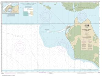 Buy map Kotzebue Harbor and Approaches Nautical Chart (16161) by NOAA from Alaska Maps Store