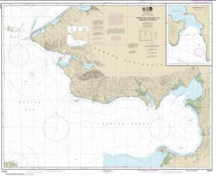 Buy map Norton Sound; Golovnin Bay Nautical Chart (16200) by NOAA from Alaska Maps Store