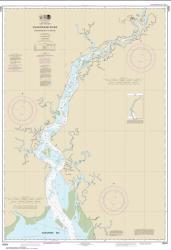 Buy map Kuskokwim Bay to Bethel Nautical Chart (16304) by NOAA from Alaska Maps Store