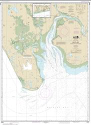 Buy map Bristol Bay-Nushagak B and approaches Nautical Chart (16322) by NOAA from Alaska Maps Store
