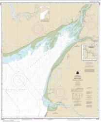 Buy map Bristol Bay-Kvichak Bay and approaches Nautical Chart (16323) by NOAA from Alaska Maps Store