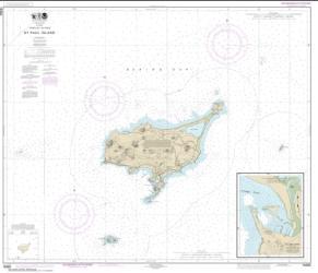 Buy map St. Paul Island, Pribilof Islands Nautical Chart (16382) by NOAA from Alaska Maps Store