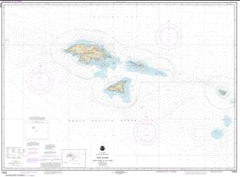 Buy map Near Islands Buldir Island to Attu Island Nautical Chart (16420) by NOAA from Alaska Maps Store