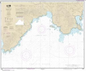 Buy map Temnac Bay Nautical Chart (16431) by NOAA from Alaska Maps Store
