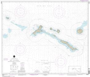 Buy map Rat Islands Semisopochnoi Island to Buldir l. Nautical Chart (16440) by NOAA from Alaska Maps Store