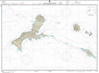 Buy map Kiska Island and approaches Nautical Chart (16441) by NOAA from Alaska Maps Store