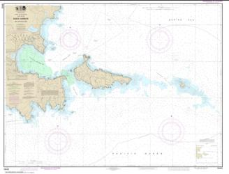 Buy map Kiska Harbor and Approaches Nautical Chart (16442) by NOAA from Alaska Maps Store
