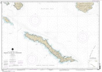 Buy map Amchitka Island and Approaches Nautical Chart (16450) by NOAA from Alaska Maps Store