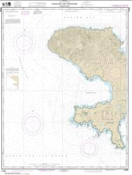 Buy map Andrenof. Islands Tanga Bay and approaches Nautical Chart (16462) by NOAA from Alaska Maps Store