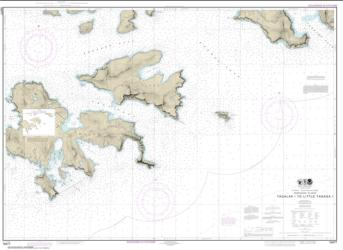 Buy map Tagalak Island to Little Tanaga l. Nautical Chart (16477) by NOAA from Alaska Maps Store