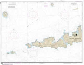 Buy map Atka Island, western part Nautical Chart (16486) by NOAA from Alaska Maps Store