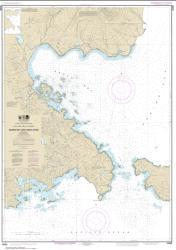 Buy map Nazan Bay and Amilia Pass Nautical Chart (16490) by NOAA from Alaska Maps Store