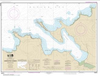 Buy map Chernofski Harbor Nautical Chart (16516) by NOAA from Alaska Maps Store