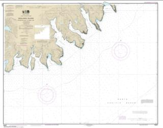 Buy map Unalaska Island Protection Bay to Eagle Bay Nautical Chart (16521) by NOAA from Alaska Maps Store