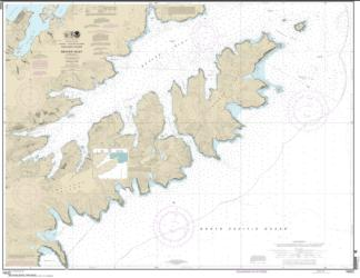 Buy map Beaver Inlet Nautical Chart (16522) by NOAA from Alaska Maps Store