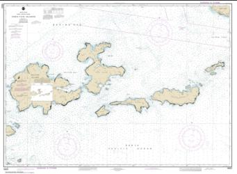 Buy map Krenitzan Islands Nautical Chart (16531) by NOAA from Alaska Maps Store