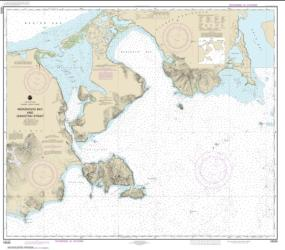 Buy map Morzhovoi Bay and Isanotski Strait Nautical Chart (16535) by NOAA from Alaska Maps Store
