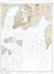 Buy map Unga Island to Pavlof Bay, Alaska Pen. Nautical Chart (16551) by NOAA from Alaska Maps Store